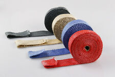 10M Exhaust Insulating Wrap Thermal Tape Fireproof Car Heat Shield Wrap Tape