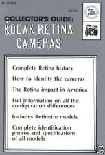 KODAK RETINA CAMERAS COLLECTOR'S COLLECTION GUIDE MANUAL RETINA HISTORY ON CD
