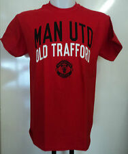 MANCHESTER UNITED RED COTTON TEE- SHIRT SIZE XL OFFICIAL MERCHANDISE  NEW