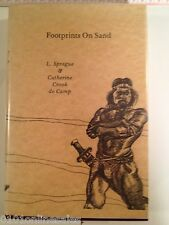 Signed By Authors-L.Sprague & Catherine Cook DeCamp-Footprints On Sand-1981 #232