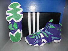 MENS ADIDAS CRAZY 8 in colors PURPLE / WHITE / BLUE SIZE 10.5