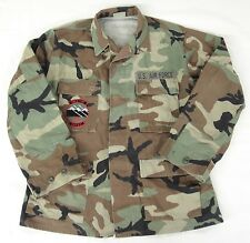 US Air Force Camouflage Coat Hot Weather Mile Hi Cadet Squadron CO143 Patch Med