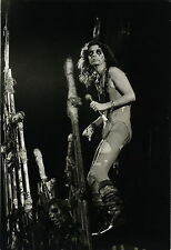 "PHOTO VINTAGE : Alice COOPER PARIS Pantin 1975 CONCERT ""CAUCHEMAR"" FRANCE INTER"