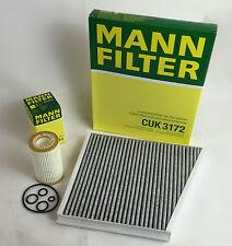 Mann-Filter Filtre à Huile + Filtre à charbon actif MERCEDES w211 e240 280 320 350 CGI 500