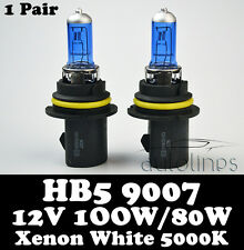 HB5 9007 12V 100W/80W Xenon White 5000k Halogen Car Head Light Lamp Globes Bulbs
