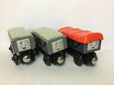 Thomas WOODEN RAILWAY Train Wood Troublesome Truck Giggling Lot