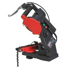 Sealey SMS2002C Chainsaw Cutting Blade Sharpener Machine Quick Locating 85W New