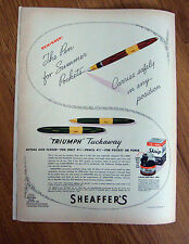 1943 Sheaffer's Pen Sets Ad Triumph Tuckaway