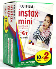 300 Prints- Fuji Instax Mini Color Film Model 7 7s 8 25 50 70 90 Fresh 9/2017