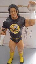 WWE CM Punk Best in the world 2008 jakks personaje WWF Wrestling (black shirt)