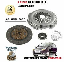 FOR CHEVROLET MATIZ 0.8 796cc A08S3 2005-2010 CLUTCH PLATE COVER BEARING KIT