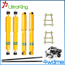"Holden Rodeo RA Front & Rear Shocks + Torsion Bar + Shackles 2"" 50mm HD Lift Kit"