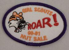Girl Scout Patch Tiger Roar 00-01 Nut Sale #Gspp