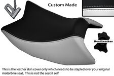 WHITE & BLACK CUSTOM CUSTOM FITS DERBI GPR 125 50 SIDE EXHAUST 07-13 FRONT COVER