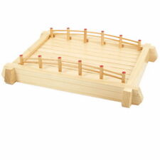 Wooden Sushi Bridge Serving Tray 22in WOBR57