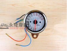 New 12V Motorcycle Universal Mechanica 13000RPM Scooter Analog Tachometer Gauge