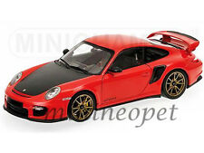 MINICHAMPS 100-069408 2011 PORSCHE 911 997 GT2 RS 1/18 RED with BRONZE WHEELS