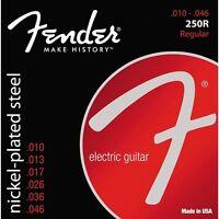 Fender 250R Super 250 Nickel-Plated Steel Electric Guitar Strings (10-46)