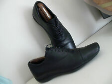 Mens PRADA shoes size UK8 Black lace front