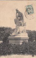 MONTPELLIER 16 l'hécate de mariello timbrée 1907