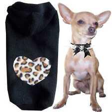 Gr.XXS Hundemantel Hundejacke Hunde Hoodie Hundemode Hundepullover Leo Love A33