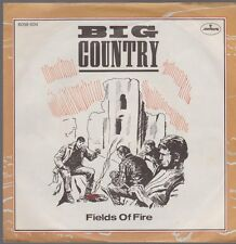 """7"""" Big Country Fields Of Fire (400 Miles) / Angle Park 80s Mercury"""