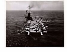 US Navy Aircraft Carrier USS Ticonderoga CV-14 Official Photo 8x10