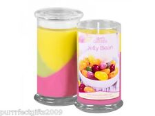 JEWELRY IN CANDLES JELLY BEAN w/ NECKLACE JAR CANDLE 100% SOY LEAD FREE