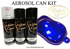 BASE PEARL BLUE GRAPE AEROSOL CAN KIT - GUITAR,  CUSTOM PAINT, LAMBRETTA