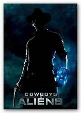 SCIFI MOVIE POSTER Cowboys and Aliens Movie Poster International One Sheet