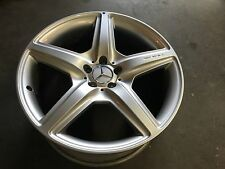 "MERCEDES W221 S550 OEM 20"" AMG REAR WHEEL RIM CL63 S63 CL65 S65 CL550 S600 S400"