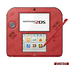 Nintendo 2DS Red Color Handheld Console NTSC-J Japan