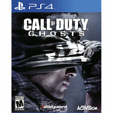 New! CALL of DUTY GHOSTS PS4 Sony PlayStation 4 SEALED BRAND NEW!