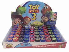 (60ct) Disney Toy Story Stamps Stampers Self-inking Birthday Boy Party Favors