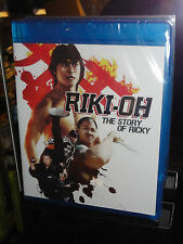Riki-Oh: The Story of Ricky (Blu-ray Disc) Fan Siu-Wang, English Language! NEW!