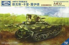 Combat Armour Models 1/35th Scale VCL Lt. Amphibious Tank Kit No. CV35-001