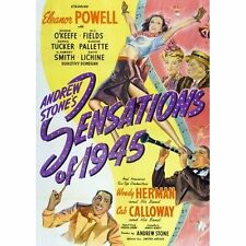 "W.C. FIELDS - ""Sensations of 1945"" - his Last Movie!  1944 Comedy Classic! - DVD"