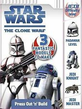 Star Wars The Clone Wars: Press Out 'n' Build, Ladybird, Very Good