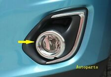 Mitsubishi ASX 2013 2014 2015 Chrome Front fog light Lamp Ring cover Bezels
