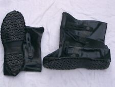 NBC Overboots MK5, ABC Protection boots, black,Size Medium , dated 1995