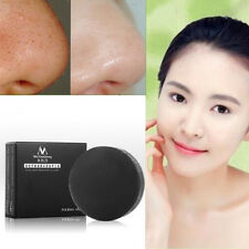 Blackheads Handmade Whitening  Clean Oil Control Carbon Purifier Charcoal Soap