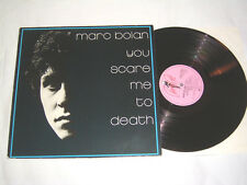 LP - Marc Bolan (T.Rex) You scare me to Death - 1981 # cleaned