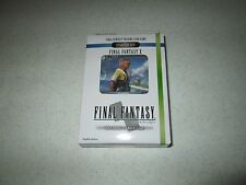 Final Fantasy TCG  Opus I Starter Deck  X Wind And Water FREE SHIPPING