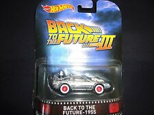 Hot Wheels DeLoream Time Machine Back to the Future 1955 Part 3 1/64 ss1