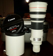 Canon ef 600mm UU*** 4.0 f/4.0 L 600 4.0  600mm/4.0  IS lens. Very SHARP at 4.0