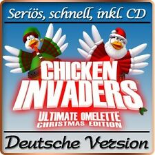 Chicken Invaders 4-edizione di Natale-Christmas Edition Deluxe-PC-GIOCO
