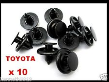 TOYOTA COROLLA MR2  FENDER LINER PUSH-TYPE REPLACEMENT PLASTIC CLIP RETAINER T15