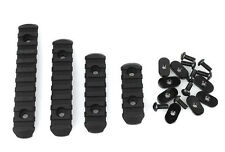 Black Tactical Polymer Rail Section Set for Magpul Hand Guard BLACK