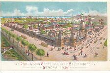 A619) GENOVA, 1914, PANORAMA GENERALE DELL'ESPOSIZIONE.