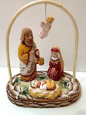 NATIVITY SCENE  UNIQUE WOODEN MUSEUM QUALITY MADE IN RUSSIA HAND CRAFTED